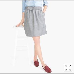 JCrew Factory Sidewalk Pencil Skirt in Gray